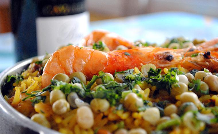 Umas & Ostras - Paella de frutos do mar